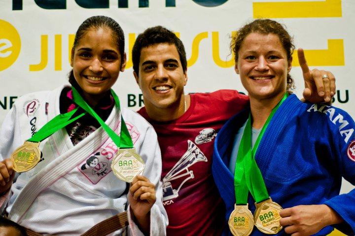 Ida med Rico og dobbelt guld til Brasileiro