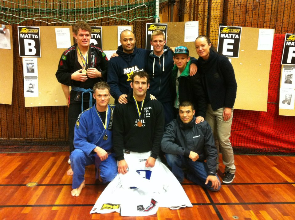 Arte Suave gruppe billede til Swedish Open BJJ 2011