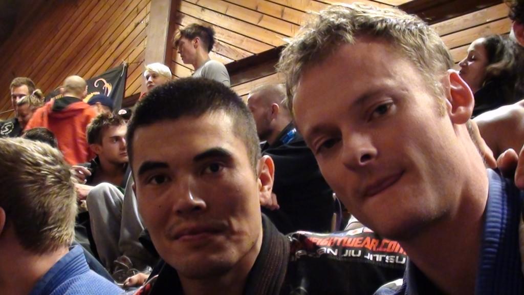 Michael og Martin til Swedish Open BJJ 2011