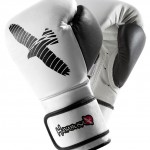 pro 16ozs parring gloves white