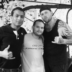 Toby, Frank og Nick til MMA Try Out