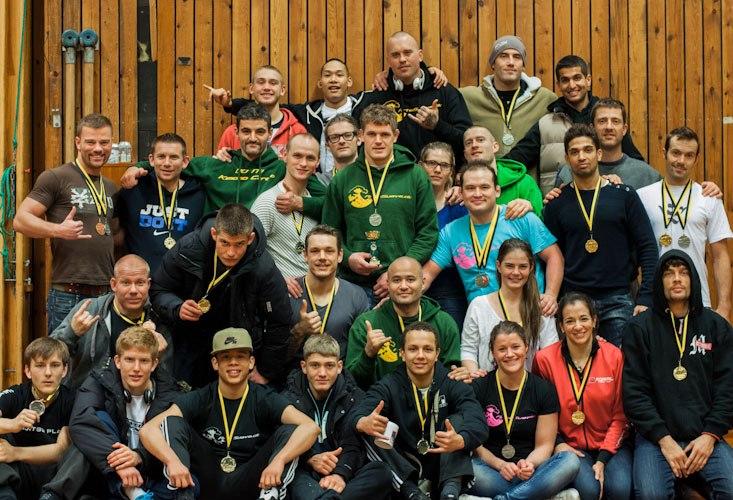 CheckMat Danmark til Swedish Open BJJ 2012