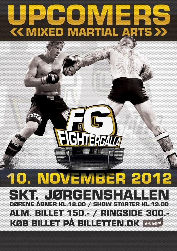 Nick Barnø kæmper til Fightergalla 26