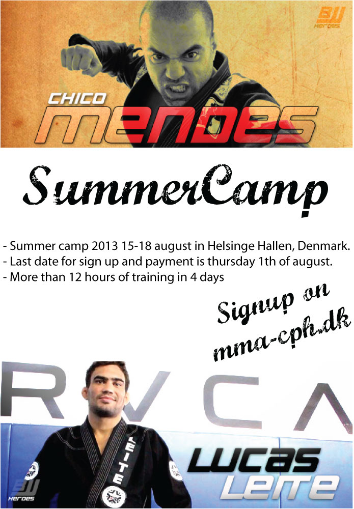 Summer Camp 2013, Chico Mendes and Lucas Leite