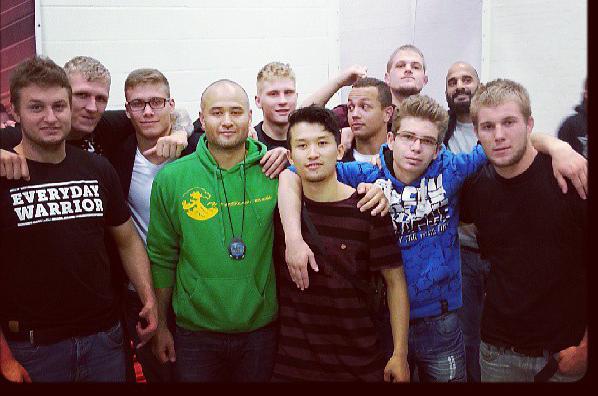 Gruppe billede af ArteSuave.dk til FG Fight Night 11