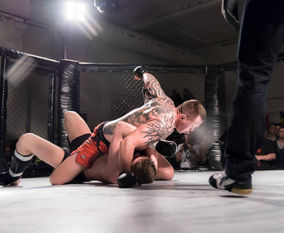Nick Vinder til Fight Night i Odense