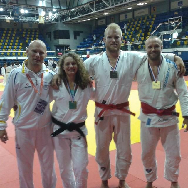 Guld til Janni til Paris Open i Newaza 2014