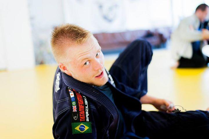Laurits Tielbo underviser i Basic BJJ