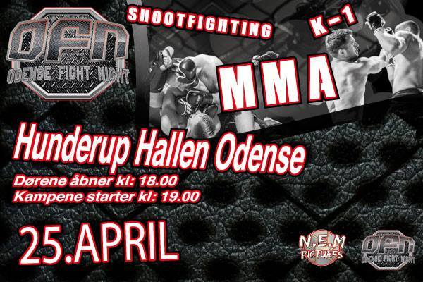 Odense Fight Night Mixed Martial Arts