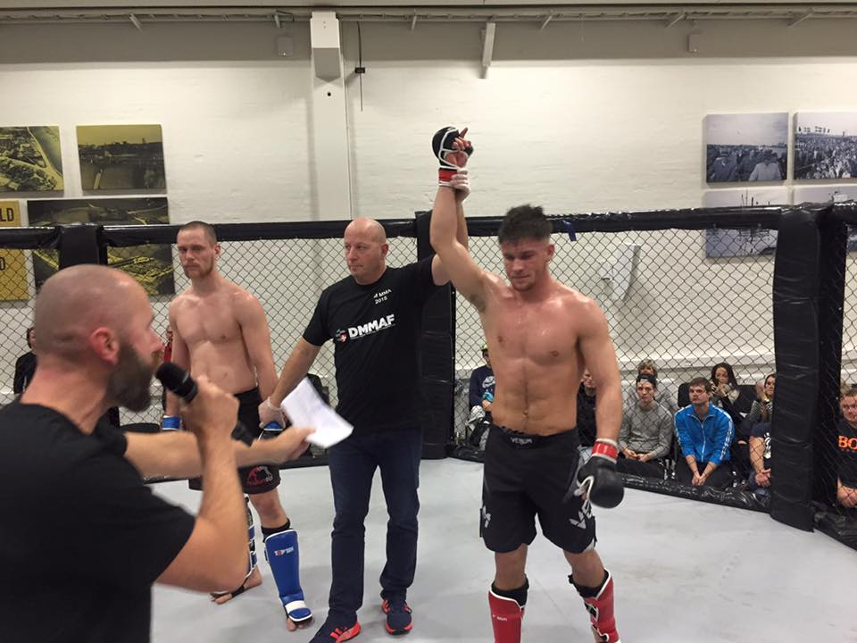 Louis vinder DM i amatør MMA 2015