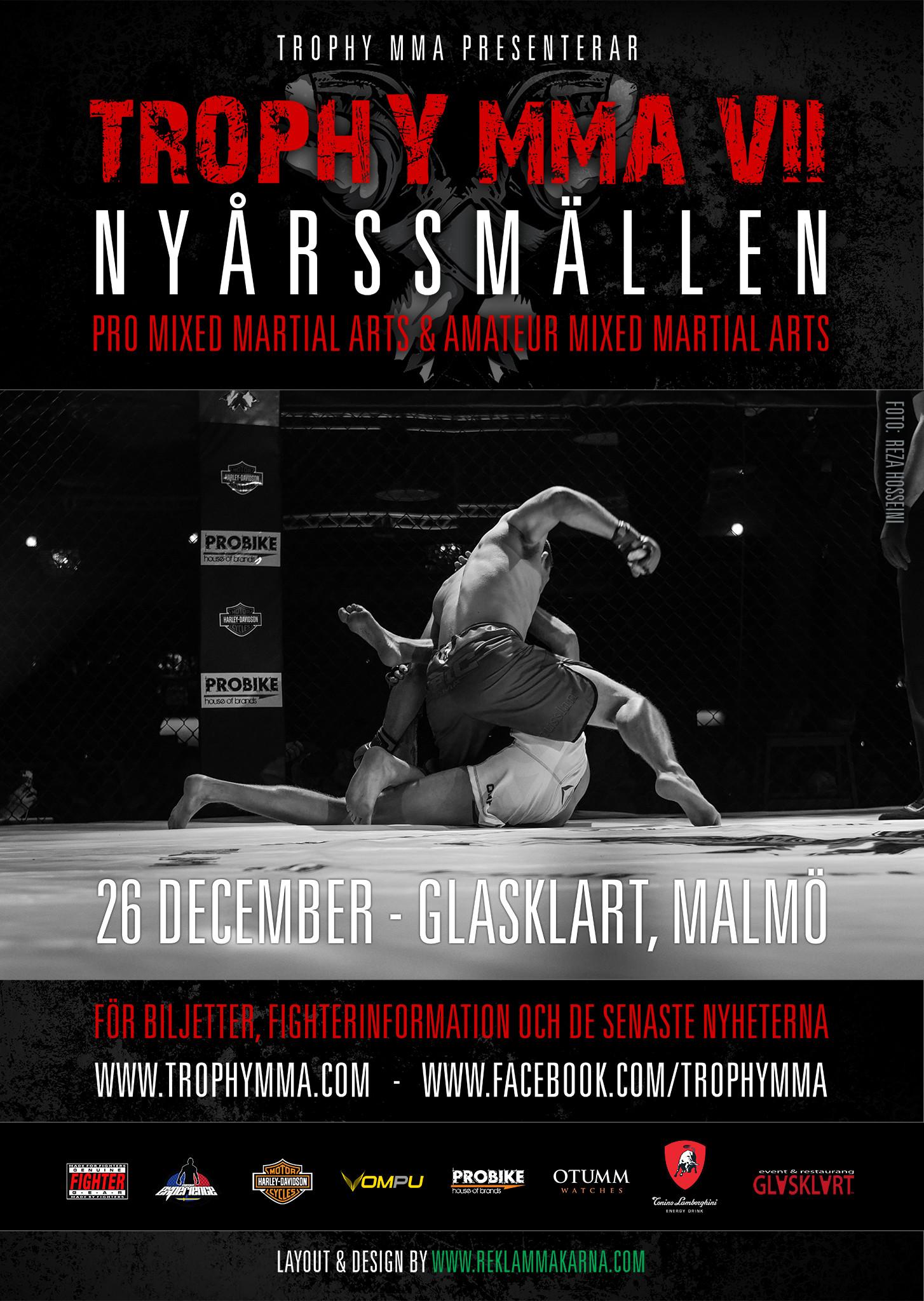 Arte Suave til Trophy MMA 26 december 2015