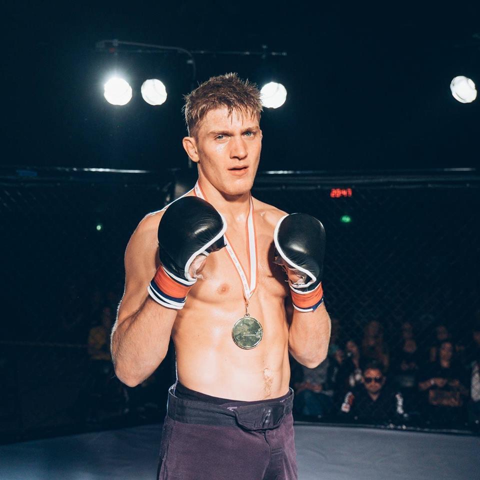 Marco Birch kæmper MMA