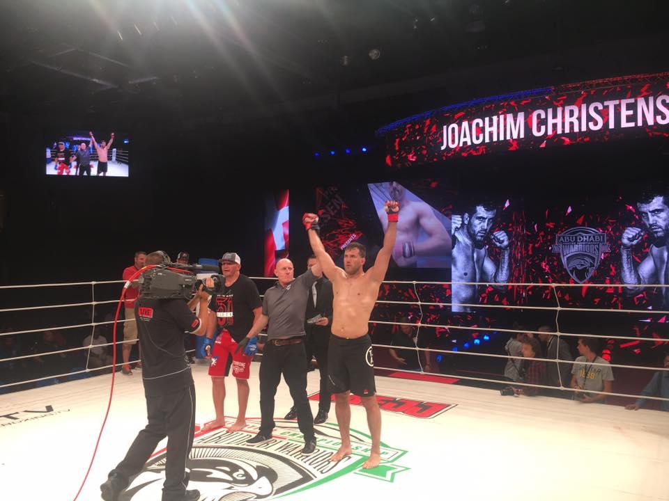 Joachim Christensen vinder til Abu Dhabi Warriors