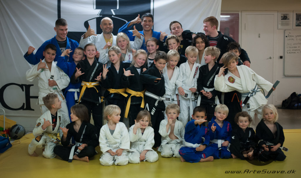 Arte Suave børne og junior BJJ hold