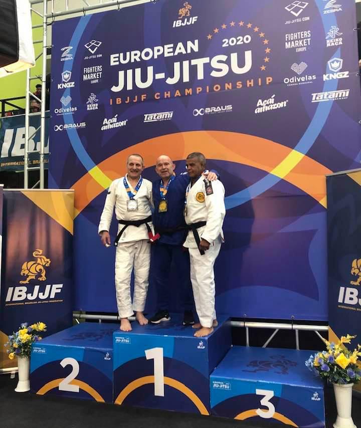 Lars vinder EM i BJJ 2020