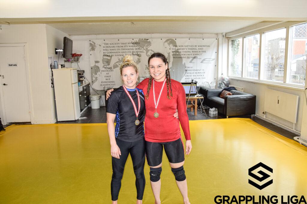 Tillykke til Anna med sølv til Dansk Grapplig Liga