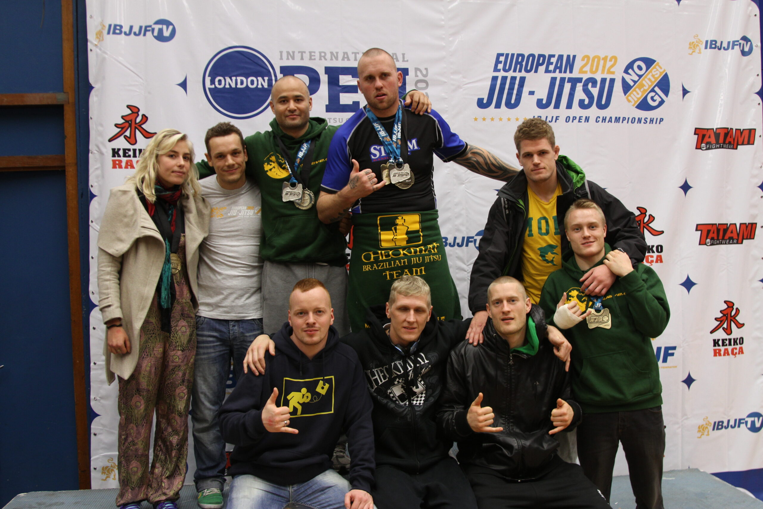 Check Danmark Gruppe billede til London/European Open No-Gi Open